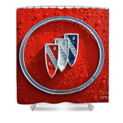 Shower Curtain featuring the photograph Emblem by Dennis Hedberg