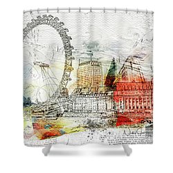 Embrace Life Shower Curtain