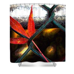Embrace Shower Curtain by Terence Morrissey