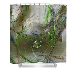 Embracing The Paradox Shower Curtain