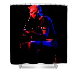 Shower Curtain featuring the photograph Jorma - Embryonic Journey by Susan Carella