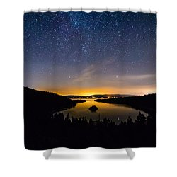 Emerald Bay Shower Curtain