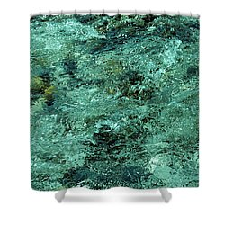 The Emerald Beauty Shower Curtain