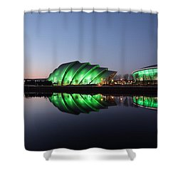 Shower Curtain featuring the photograph Emerald City by Grant Glendinning