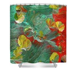 Emerald Island Shower Curtain