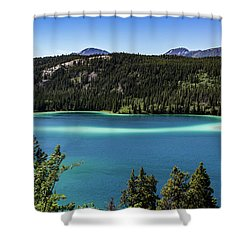 Emerald Lake 2 Shower Curtain