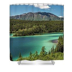 Emerald Lake Shower Curtain