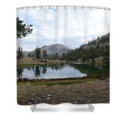 Jarbidge Wilderness Emerald Lake Shower Curtain