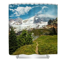 Emerald View Shower Curtain