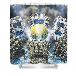 Emergence Shower Curtain