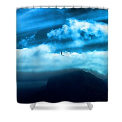Shower Curtain featuring the photograph Emergence by Kim Wilson
