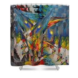 Emergence Of Colour Phase 3 Shower Curtain