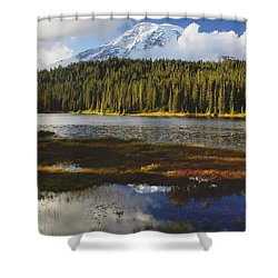 Emergence Shower Curtain by Sean Griffin