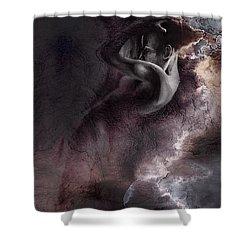 Emergent 1b - Textured Shower Curtain