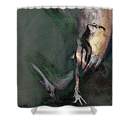 emergent II - textured Shower Curtain
