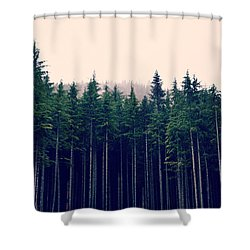 Emerson  Shower Curtain by Robin Dickinson