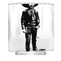 Emiliano Zapata Shower Curtain