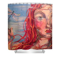 Emily 2 Shower Curtain by Heather Roddy