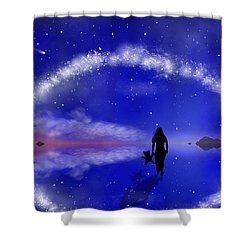 Emily's Journey Part 1 Shower Curtain