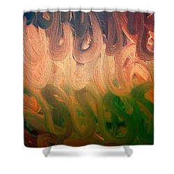 Emotion Shower Curtain by Roberta Byram