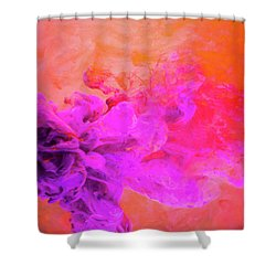 Emotional Fusion  - Abstract Art Photography Shower Curtain