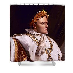 Emperor Napoleon Bonaparte  Shower Curtain by War Is Hell Store
