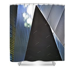 Empire Shower Curtain by Skip Hunt