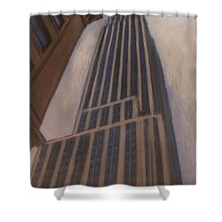 Empire State Building 1 Shower Curtain by Anita Burgermeister