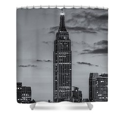 Empire State Building Morning Twilight Iv Shower Curtain