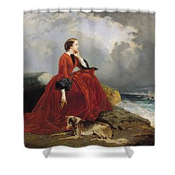 Empress Eugenie Shower Curtain by E Defonds