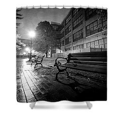 Shower Curtain featuring the photograph Emptiness by Everet Regal