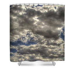 Empty Land Shower Curtain