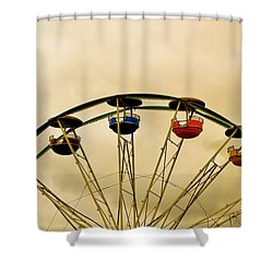 Empty Seats Shower Curtain
