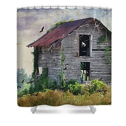 Empty Spaces Shower Curtain by Jan Amiss Photography