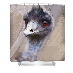 Emu Shower Curtain