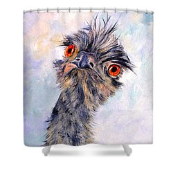Emu Twister Shower Curtain