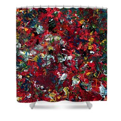 Enamel 1 Shower Curtain