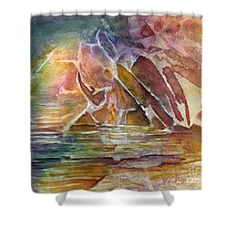 Enchanted Cavern Shower Curtain