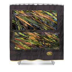 Enchanted By Light -  Shower Curtain