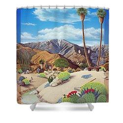 Enchanted Desert Shower Curtain