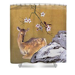Enchanted Doe Shower Curtain