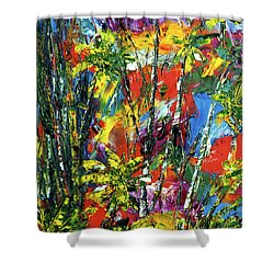 Enchanted Jungle  #167 Shower Curtain by Donald k Hall