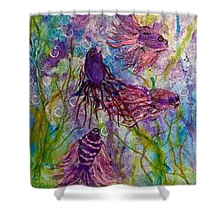 Enchanted Sealife Party Shower Curtain