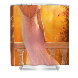 Enchanted Summer Shower Curtain by Michael Rock