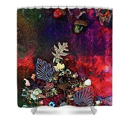 Enchanted Twilight Shower Curtain by Donna Blackhall