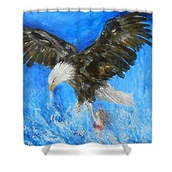 Enchantment Shower Curtain by Jane See