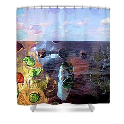 Enchantment Of The Seas Shower Curtain