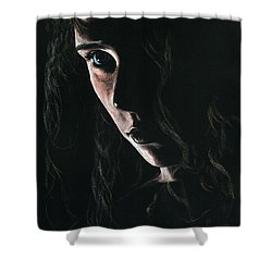 Enchantress Shower Curtain by Richard Young
