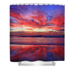 Shower Curtain featuring the photograph Encinitas Energy by John F Tsumas