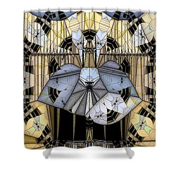 Enclosed Shower Curtain by Ron Bissett